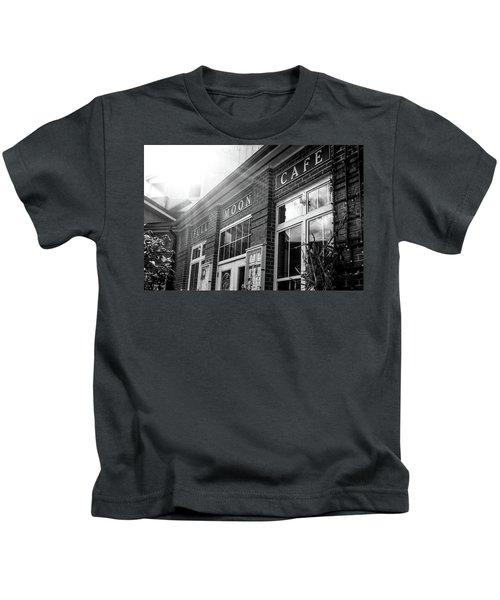Full Moon Cafe Kids T-Shirt