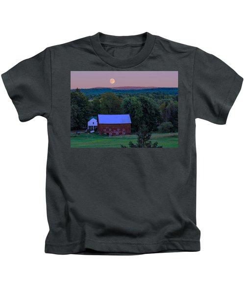 Full Moon From High Street Kids T-Shirt