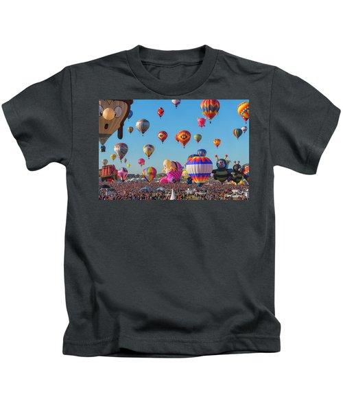 Funky Balloons Kids T-Shirt