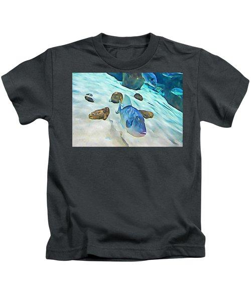 Funny Fish Kids T-Shirt