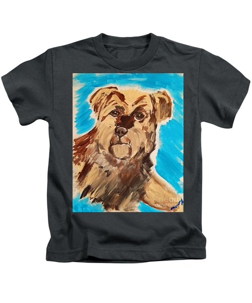 Fuzzy Boy Kids T-Shirt
