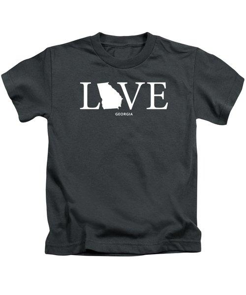 Ga Love Kids T-Shirt by Nancy Ingersoll