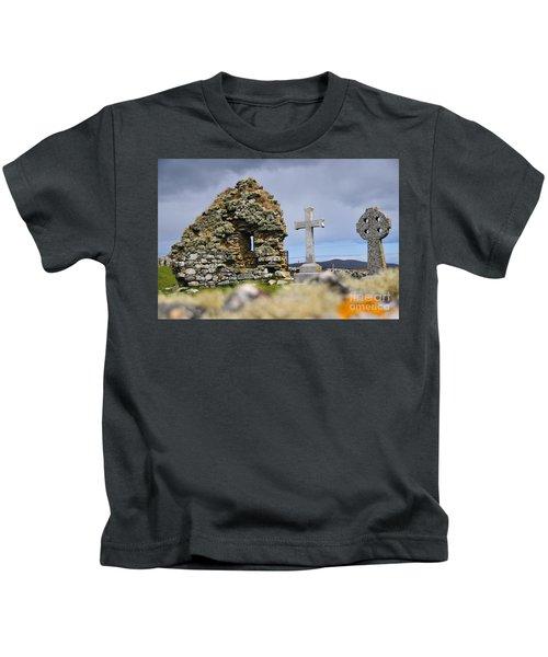 Gaelic Headstone Kids T-Shirt