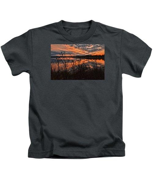 Gainesville Sunset 2386w Kids T-Shirt