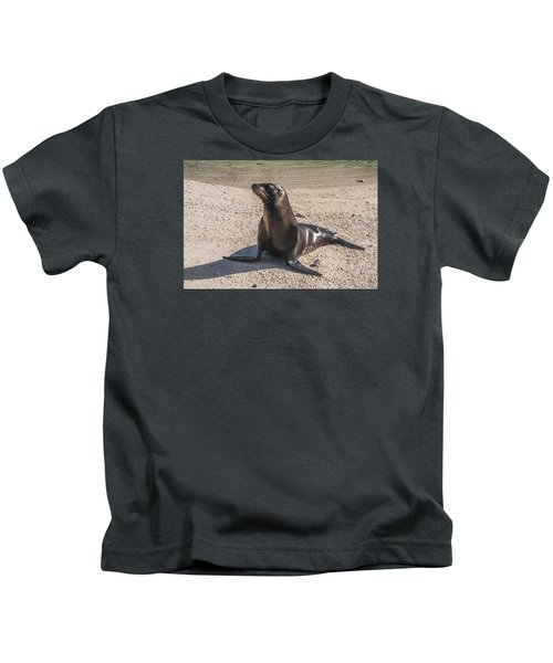 Galapagos Sea Lion Kids T-Shirt