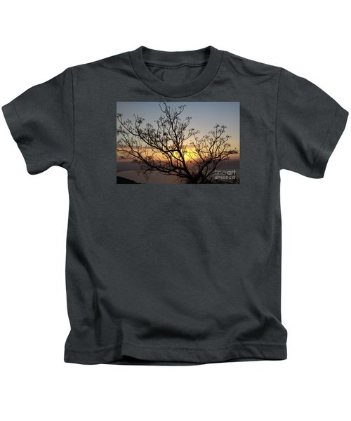 Galilee Sunset Kids T-Shirt