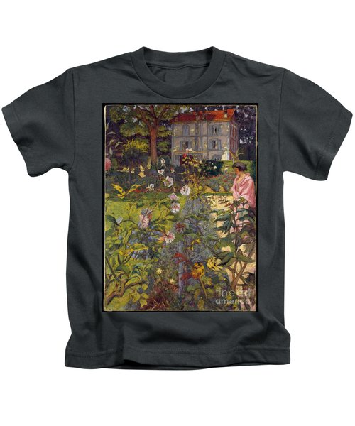 Garden At Vaucresson Kids T-Shirt