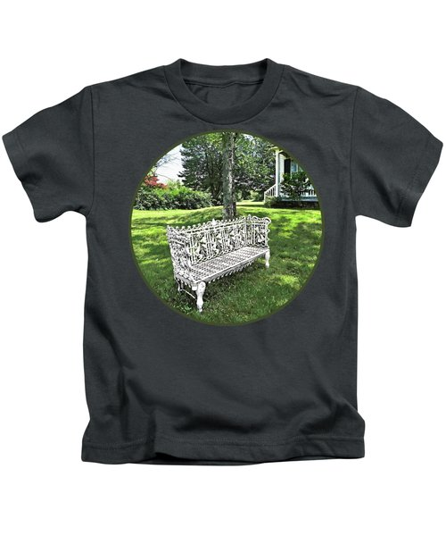 Garden Bench Kids T-Shirt