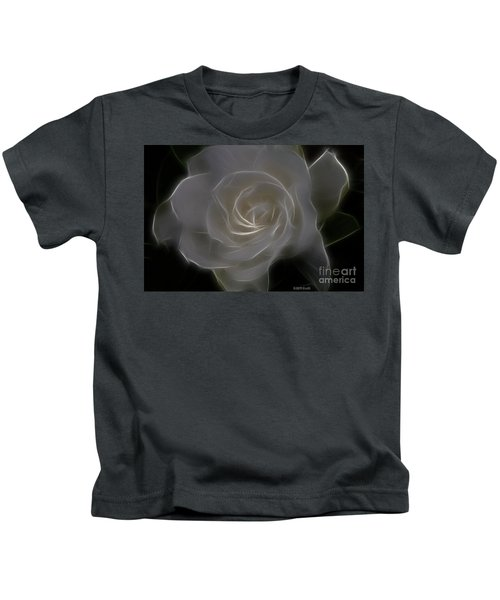 Gardenia Blossom Kids T-Shirt
