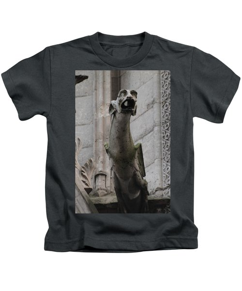 Gargoyle Notre Dame Kids T-Shirt
