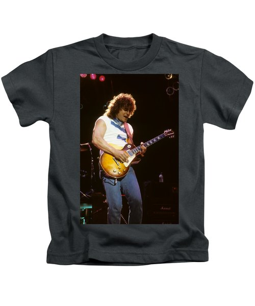 Gary Richrath Of Reo Speedwagon Kids T-Shirt