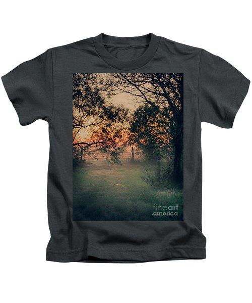 Gated Sunset Kids T-Shirt