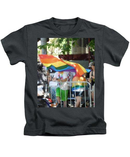 Gay Pride Flag Kids T-Shirt