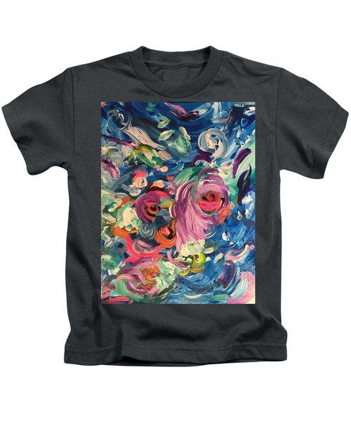 Gaze Of Lynx Kids T-Shirt