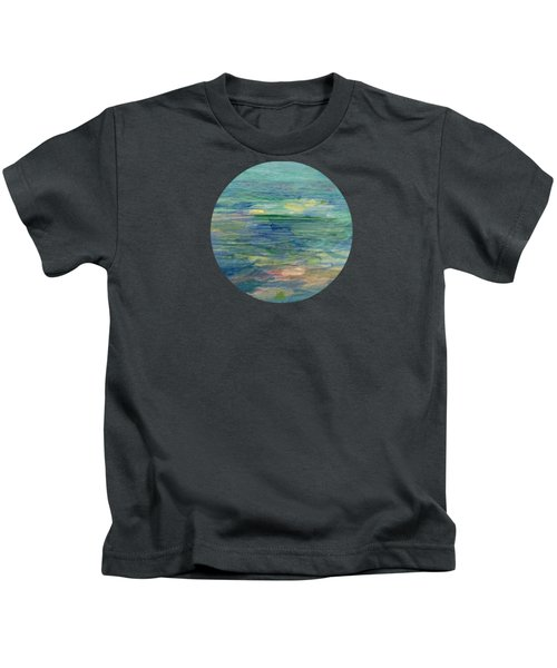 Gentle Light On The Water Kids T-Shirt by Mary Wolf