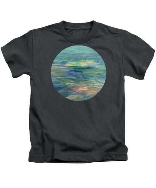 Gentle Light On The Water Kids T-Shirt