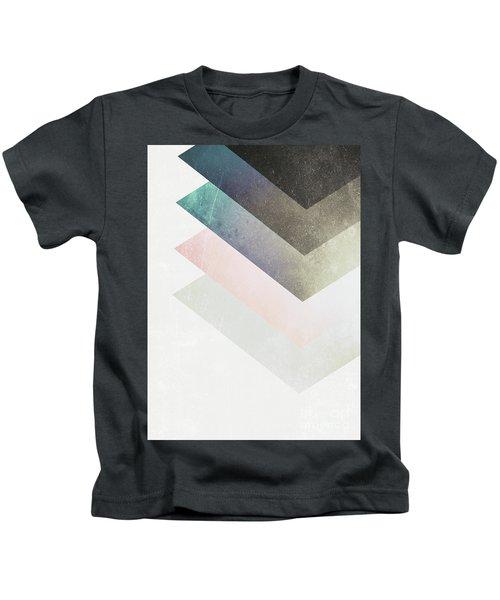 Geometric Layers Kids T-Shirt