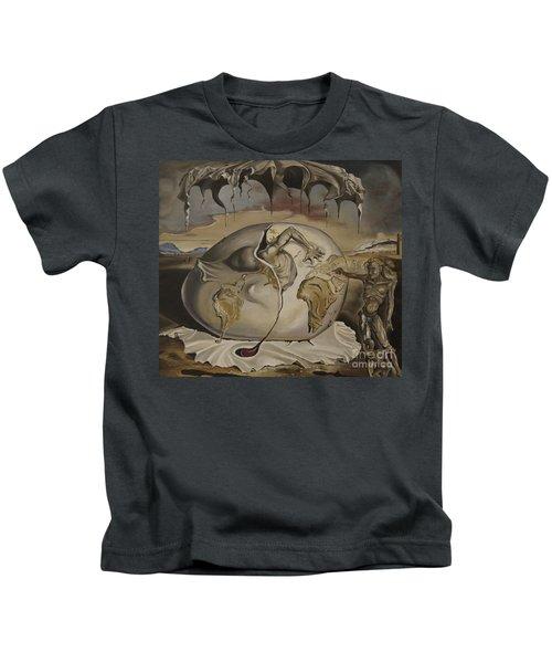 Dali's Geopolitical Child Kids T-Shirt