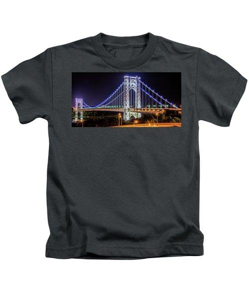 George Washington Bridge - Memorial Day 2013 Kids T-Shirt