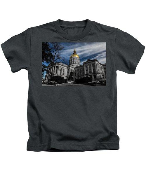 Georgia State Capital Kids T-Shirt