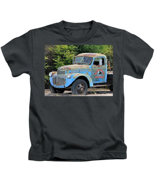 Geraine's Blue Truck Kids T-Shirt
