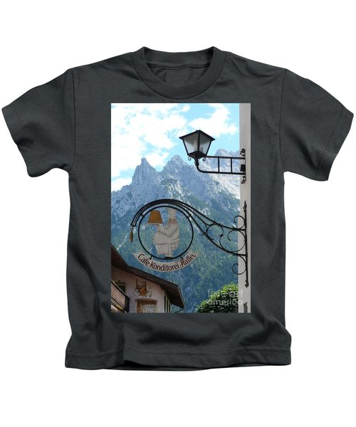 Germany - Cafe Sign Kids T-Shirt