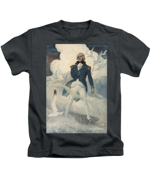 Ghost Of Admiral Nelson Kids T-Shirt