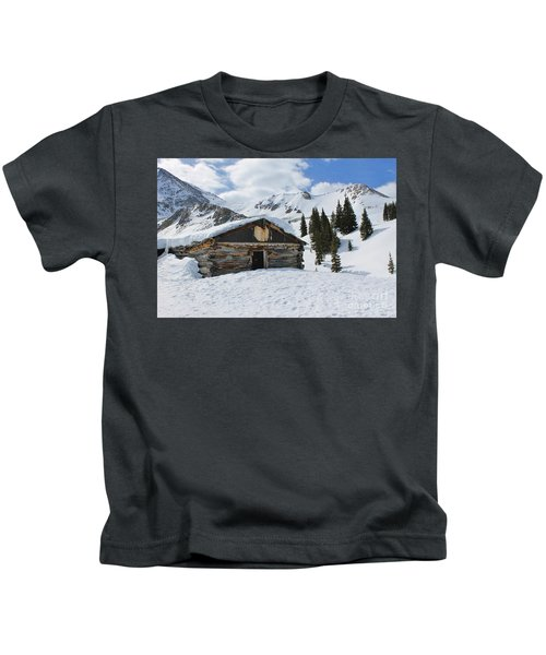 Ghost Town In Winter 2 Kids T-Shirt