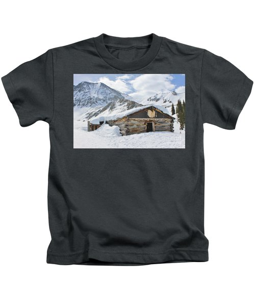 Ghost Town In Winter 3 Kids T-Shirt