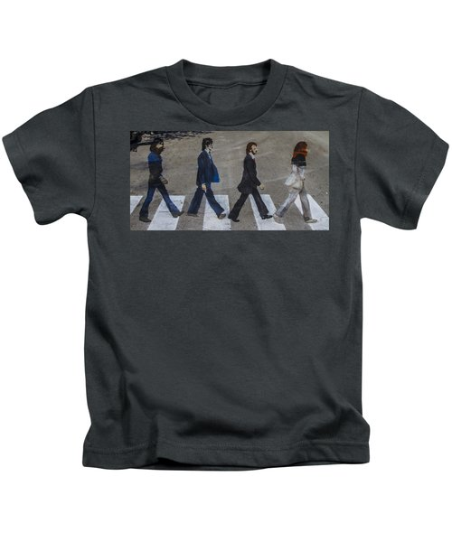 Ghosts Of Abby Road Kids T-Shirt