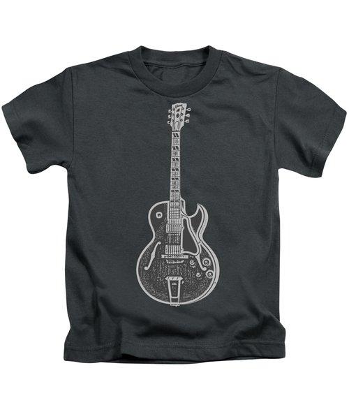 Gibson Es-175 Electric Guitar Tee Kids T-Shirt