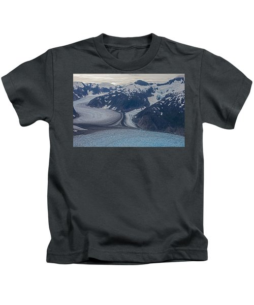 Glacial Curves Kids T-Shirt
