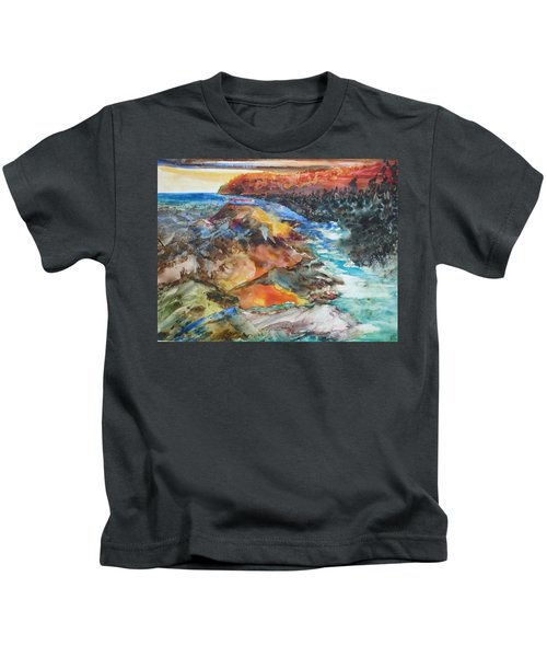 Glacial Meltdown Kids T-Shirt