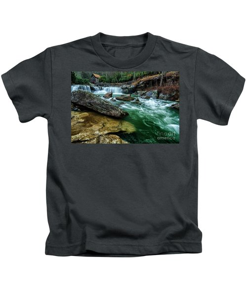 Glade Creek And Grist Mill Kids T-Shirt