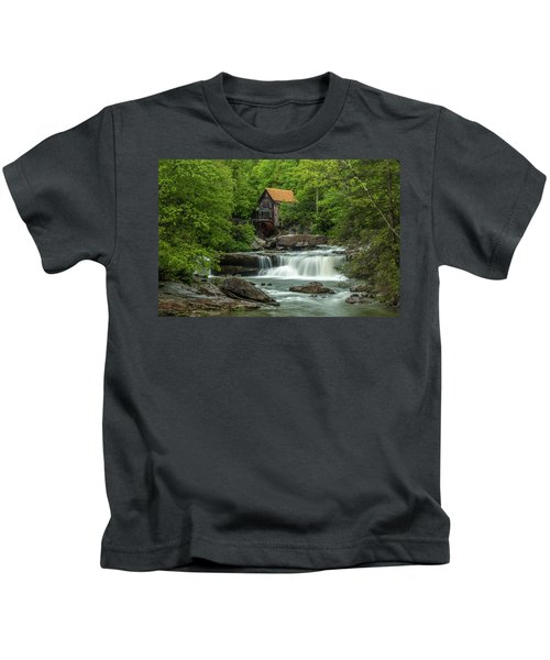 Glade Creek Grist Mill In May Kids T-Shirt