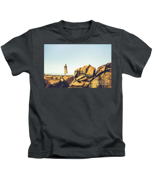 Glamour In Untouched Paradise Kids T-Shirt
