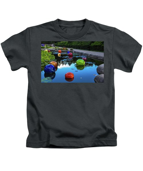 Glass At Biltmore Kids T-Shirt