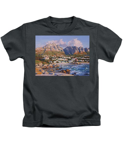 Glen Beach, Cape Town Kids T-Shirt