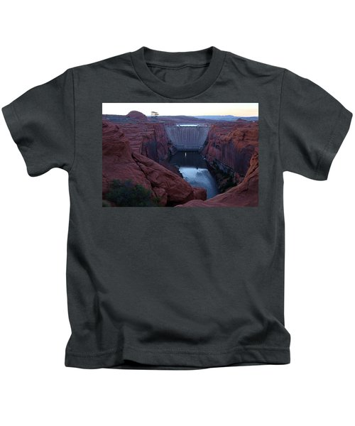 Glenn Canyon Dam Kids T-Shirt