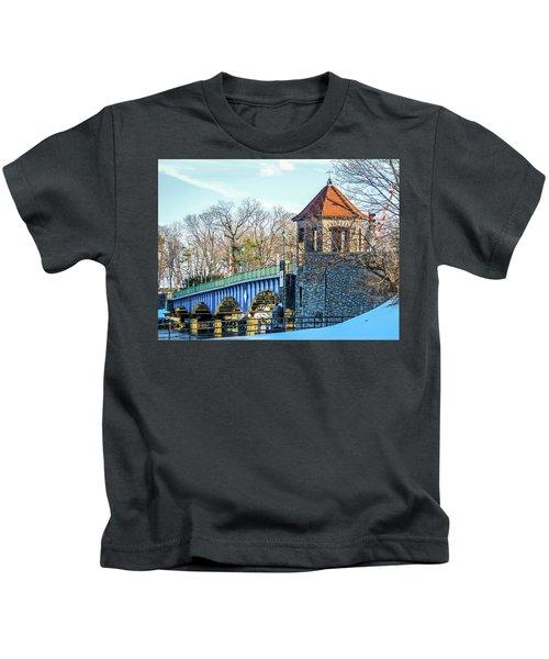 Glenn Island Drawbridge Kids T-Shirt