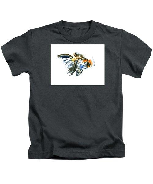 Goldfish Kids T-Shirt by Suren Nersisyan