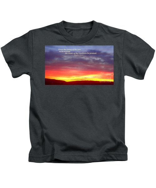 Glory And Praise  Kids T-Shirt