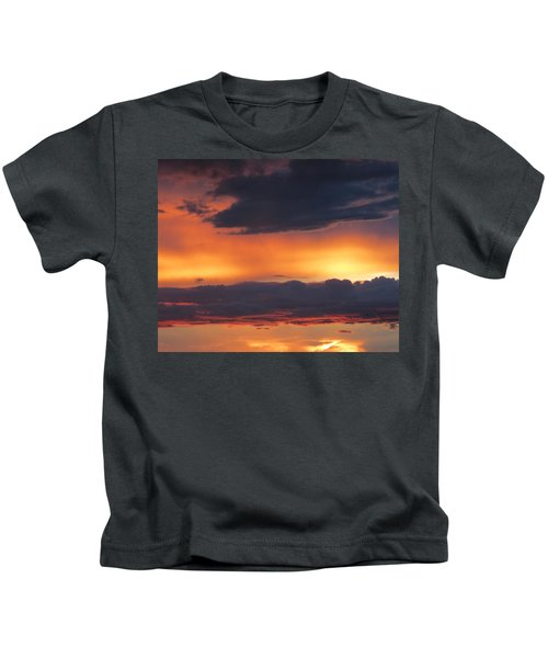 Glowing Clouds Kids T-Shirt