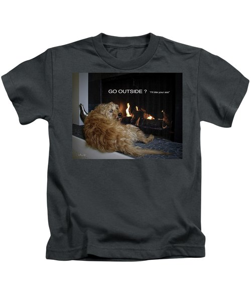 Go Outside ? Kids T-Shirt