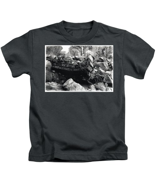Goat Rock Tractor Jenner California Kids T-Shirt
