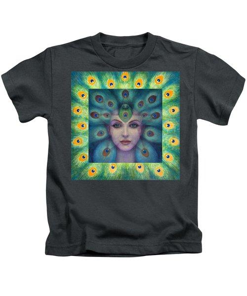 Goddess Isis Visions Kids T-Shirt