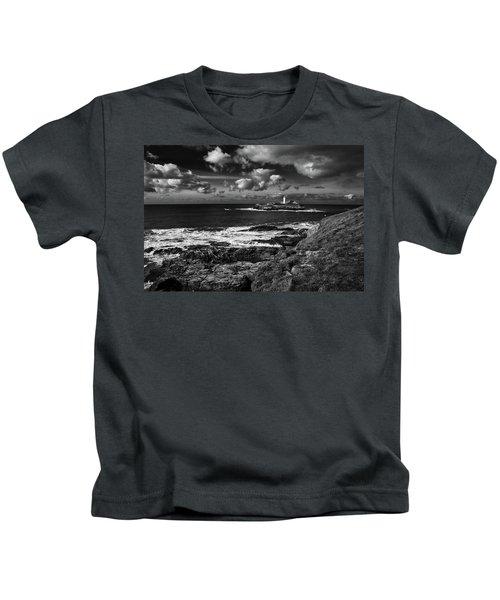 Godrevy Lighthouse 2 Kids T-Shirt