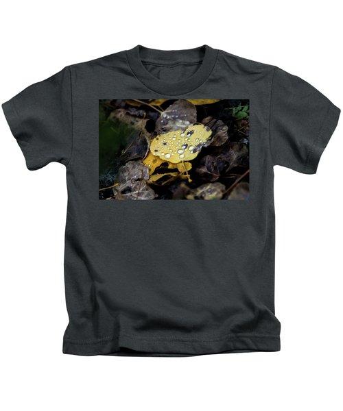 Gold And Diamons Kids T-Shirt