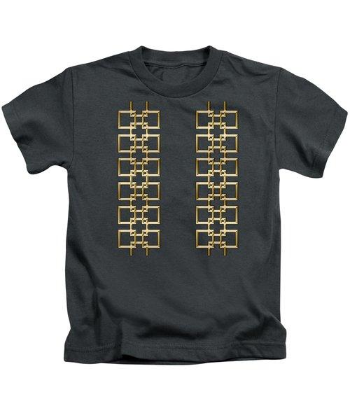 Gold Geo 5 Kids T-Shirt