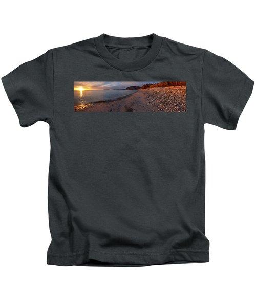 Golden Beach Kids T-Shirt